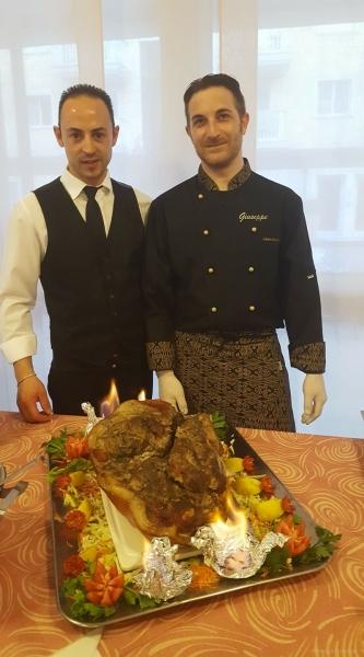 Mimmo e lo Chef Giuseppe