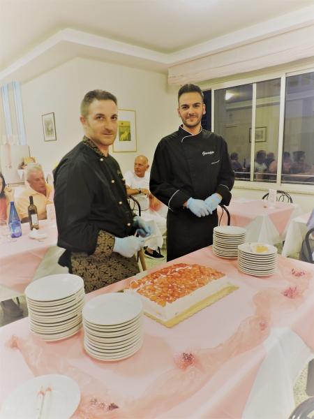 Lo chef Giuseppe e Antonio