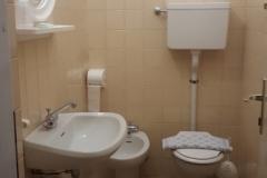Bagno privato esterno camera singola